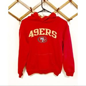 San Francisco 49ers Youth Sweatshirt NFL Apparel
